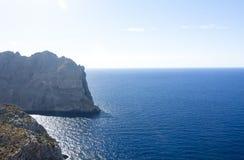 Capsule a de formentor - costa hermosa de Majorca, España - Europa Foto de archivo