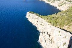 Capsule a de formentor - costa hermosa de Majorca, España - Europa Fotografía de archivo libre de regalías
