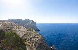 Capsule a de formentor - costa hermosa de Majorca, España - Europa Fotografía de archivo