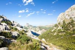 Capsule a de formentor - costa hermosa de Majorca, España - Europa Fotos de archivo