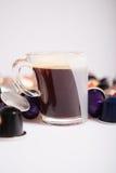 Capsule del caffè Fotografie Stock Libere da Diritti