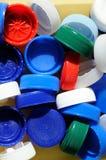 Capsule di plastica Immagini Stock