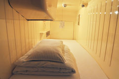 Capsule Hotel Royalty Free Stock Photography