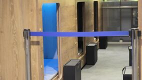 Capsule hotel in the airport tourism technology