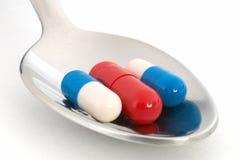 Capsule le supplément diététique Images libres de droits