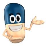 Capsule Mascot Stock Images