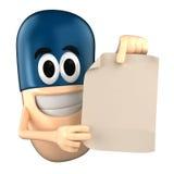 Capsule Mascot Stock Image
