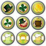 Capsule per il giorno del Patrick santo Fotografia Stock