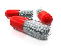 Free Capsule Pills Stock Images - 18167644