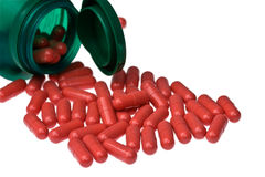 Capsule pills Royalty Free Stock Images
