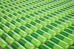 Capsule pills background Stock Photos