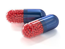 Capsule pills  Stock Images