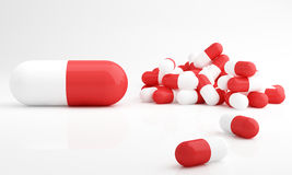 Capsule pills, dosage Royalty Free Stock Images
