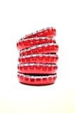 Capsule rosse Immagine Stock Libera da Diritti