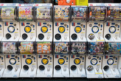 Capsule-toy vending machine or Gashapon Royalty Free Stock Image