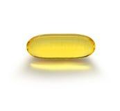 Capsule transparente de médecine Photo stock