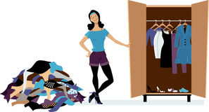 Capsule Wardrobe vector illustration