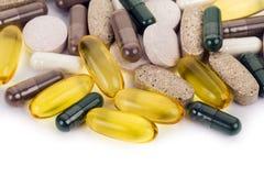 capsules диетические таблетки дополнения Стоковое фото RF