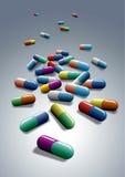 capsules медицинская Стоковые Фото