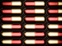 capsules пакет meditsinchkie Стоковые Фотографии RF