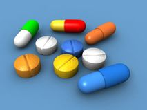capsules пилюльки бесплатная иллюстрация