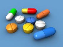 capsules пилюльки Стоковое фото RF