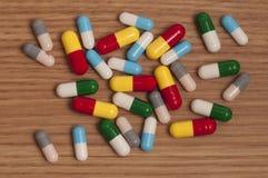 capsules пилюльки стоковые фото
