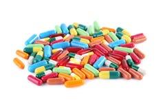 capsules пилюльки Стоковые Изображения RF