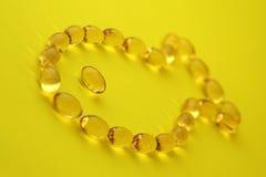 capsules рыбий жир Стоковая Фотография RF