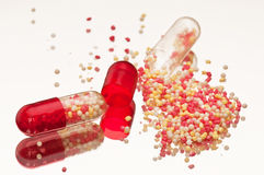Capsules Stock Photography