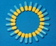 Capsules Stock Image