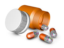 Capsules Royalty Free Stock Photography