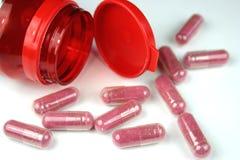 capsules cranberryen Royaltyfri Bild