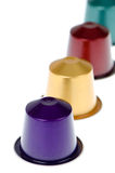 Capsules de café Images stock