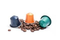 Capsules de café Image stock