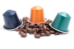 Capsules de café Image libre de droits