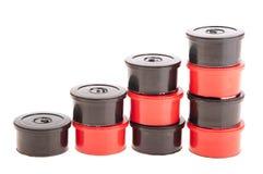 Capsules de café et de thé Photographie stock libre de droits