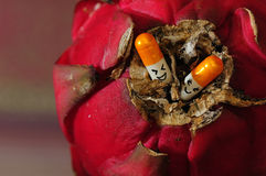 Capsules de Valentine Photo libre de droits