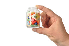 Capsules en Pillen royalty-vrije stock afbeelding