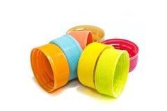 capsules en plastique Photos stock