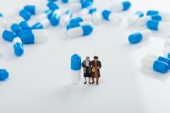 capsules läkarundersökning Royaltyfri Fotografi