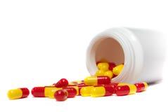 capsules medicinen Royaltyfria Foton