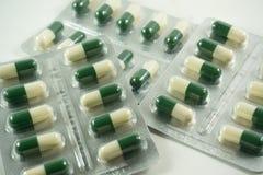 Capsules of medicines Stock Photos