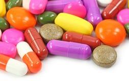 capsules pills Royaltyfria Foton