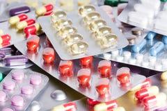 capsules pills Fotografering för Bildbyråer
