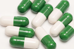 capsules pills royaltyfri fotografi