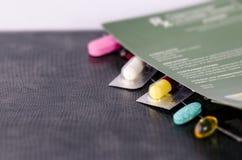capsules pills Royaltyfri Foto