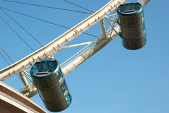 Capsules of singapore flyer Royalty Free Stock Photography