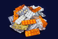 Capsules and Tablets Royalty Free Stock Image