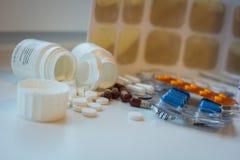 Capsuls y píldoras Imagen de archivo